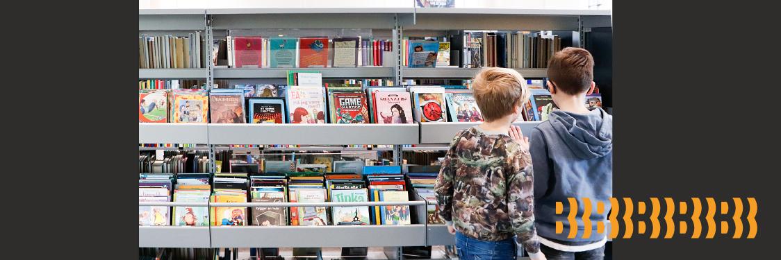 Børn på biblioteket